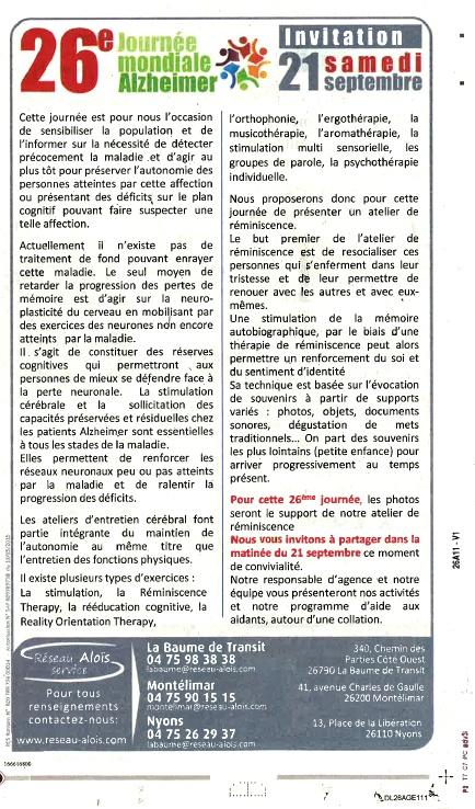 Le Dauphiné Drôme septembre 2019