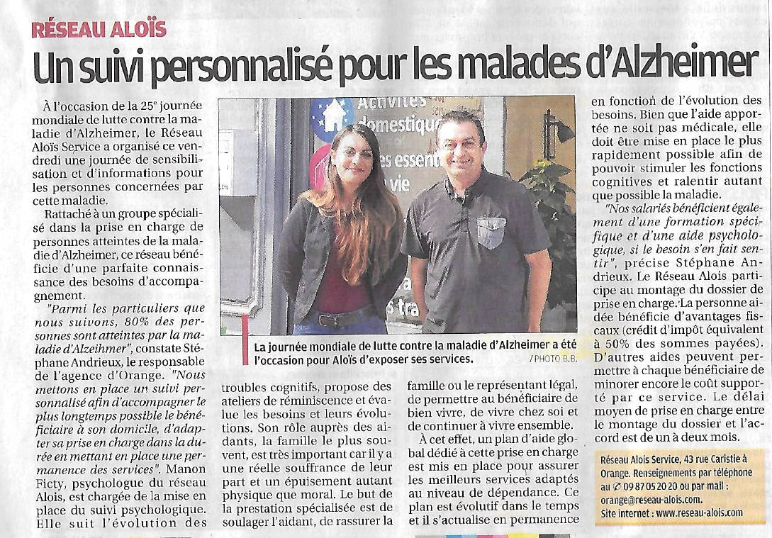 La Provence 25 septembre 2018