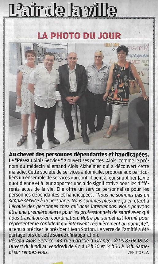 La Provence 3 juillet 2018