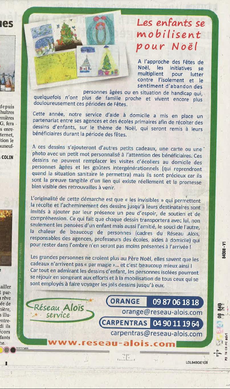 LE DAUPHINÉ édition Vaucluse