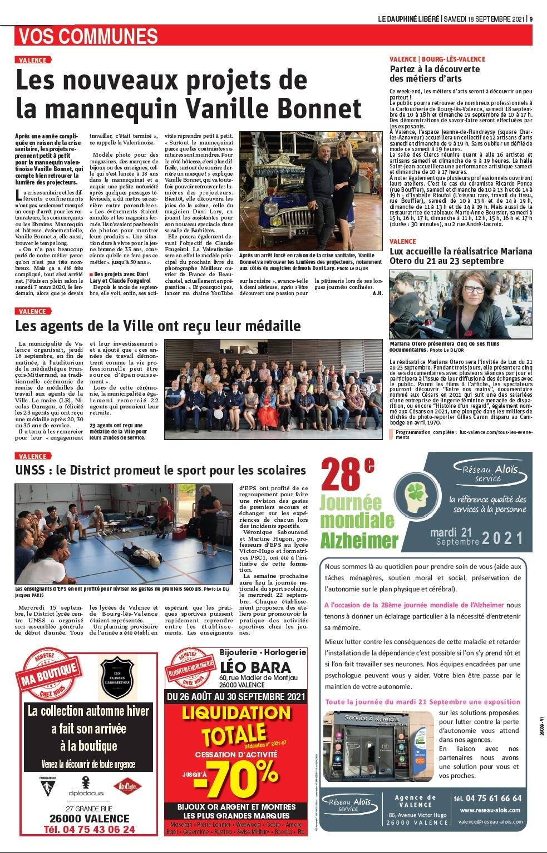 Le Dauphiné Edition Valence